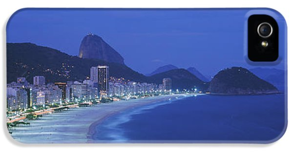 Aves iPhone 5 Cases - Beach, Copacabana, Rio De Janeiro iPhone 5 Case by Panoramic Images