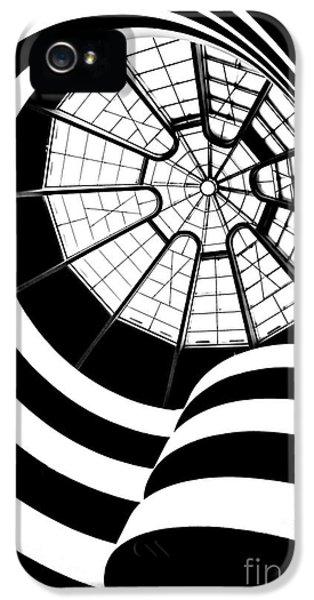 Swirls iPhone 5 Cases - Beam Me Up  iPhone 5 Case by Az Jackson
