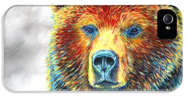 Hunting iPhone 5 Cases - Bear Thoughts iPhone 5 Case by Teshia Art