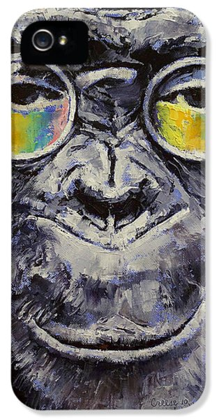 Modern Steampunk iPhone 5 Cases - Beatnik iPhone 5 Case by Michael Creese