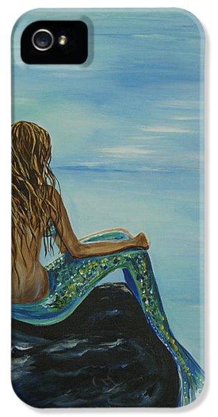 Beautiful Magic Mermaid IPhone 5 / 5s Case by Leslie Allen