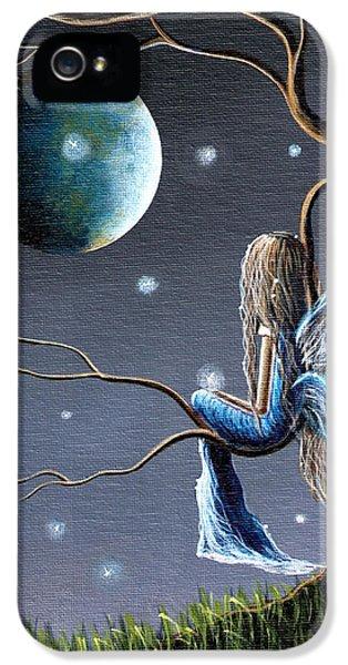 Charming iPhone 5 Cases - Fairy Art Print - Original Artwork iPhone 5 Case by Shawna Erback