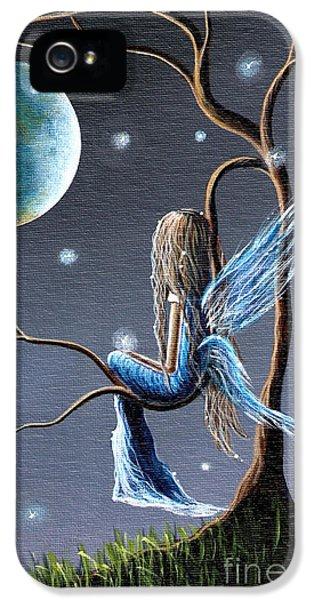 Fairies iPhone 5 Cases - Fairy Art Print - Original Artwork iPhone 5 Case by Shawna Erback