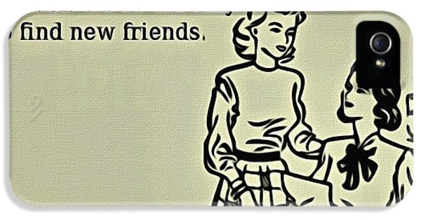 Best Friends Forever iPhone 5 Cases - Best Friends Forever iPhone 5 Case by Florian Rodarte