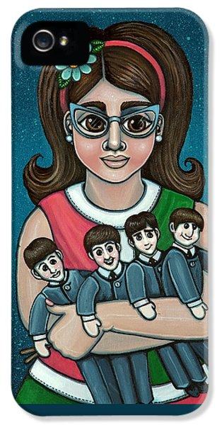 Betty Jeans Beatles IPhone 5 / 5s Case by Victoria De Almeida