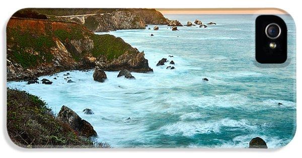Big Sur Sunrise IPhone 5 / 5s Case by Jamie Pham