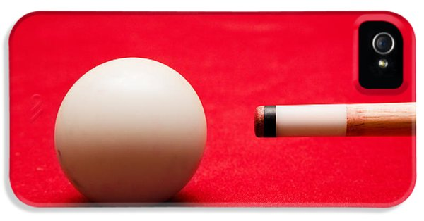 Balls iPhone 5 Cases - Billards pool game iPhone 5 Case by Michal Bednarek