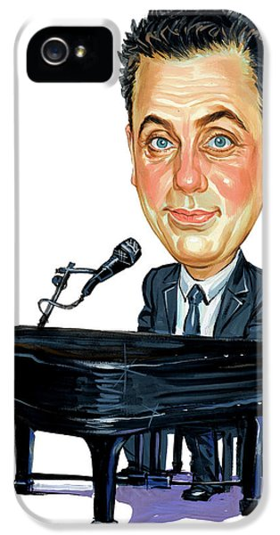 Art iPhone 5 Cases - Billy Joel iPhone 5 Case by Art
