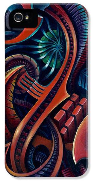 Bio-mechanical iPhone 5 Cases - Bio Mech II iPhone 5 Case by Steve  Stilo  Gleason