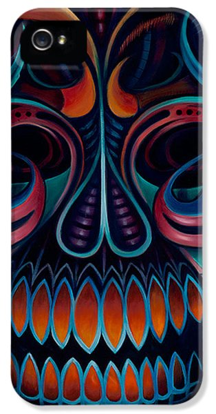 Bio-mechanical iPhone 5 Cases - Bio Mech III iPhone 5 Case by Steve  Stilo  Gleason