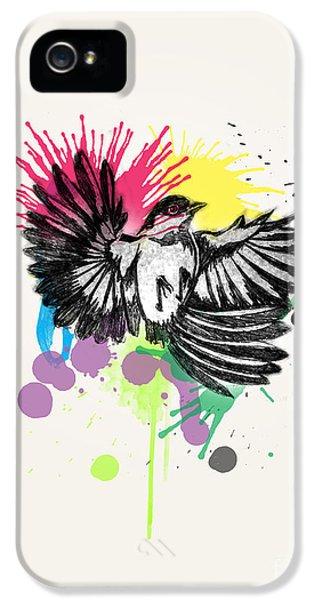 Bird IPhone 5 / 5s Case by Mark Ashkenazi