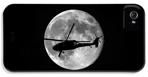 Black Hawk Moon IPhone 5 / 5s Case by Al Powell Photography USA