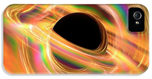 Black Hole IPhone 5 / 5s Case by Alfred Pasieka
