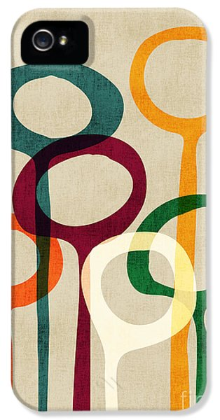 Geometric iPhone 5 Cases - Blowing bubbles iPhone 5 Case by Budi Kwan