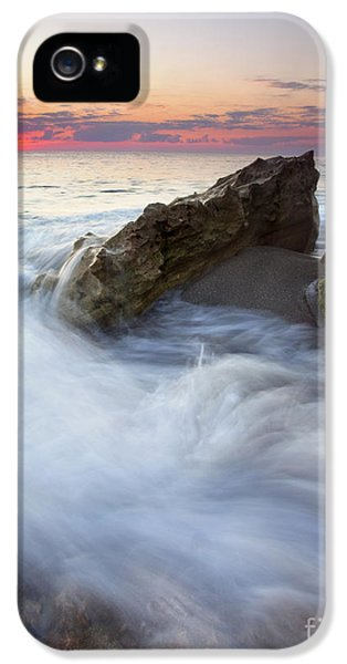 Blowing iPhone 5 Cases - Blowing Rocks Sunrise iPhone 5 Case by Mike  Dawson