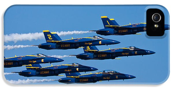Blue Angels IPhone 5 / 5s Case by Adam Romanowicz