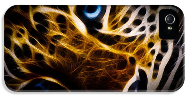Anger iPhone 5 Cases - Blue Eye iPhone 5 Case by Aged Pixel
