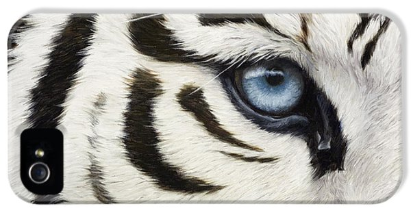 Blue Eye IPhone 5 / 5s Case by Lucie Bilodeau