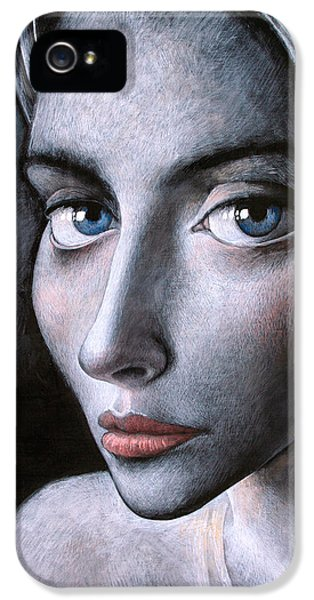 Blue Eyes IPhone 5 / 5s Case by Ilir Pojani