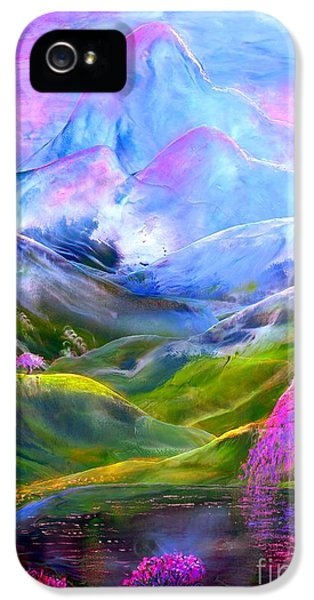 Blue Mountain Pool IPhone 5 / 5s Case by Jane Small