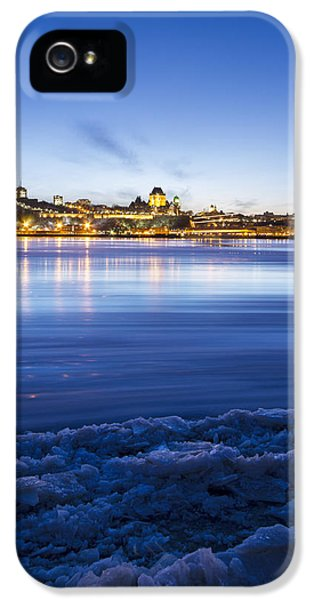 Harborfront iPhone 5 Cases - Blue Night iPhone 5 Case by Mircea Costina Photography