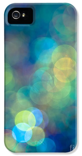 Glowing iPhone 5 Cases - Blue of the Night iPhone 5 Case by Jan Bickerton