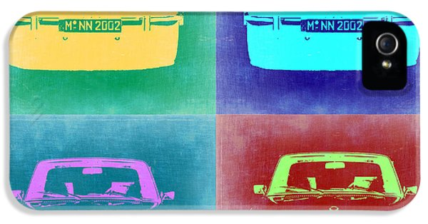 Bmw iPhone 5 Cases - BMW 2002 Pop Art 1 iPhone 5 Case by Naxart Studio