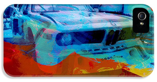 German Classic Cars iPhone 5 Cases - BMW Laguna Seca iPhone 5 Case by Naxart Studio