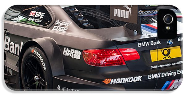 German Racing Driver iPhone 5 Cases - BMW M3 DTM 2012 car iPhone 5 Case by Frank Gaertner