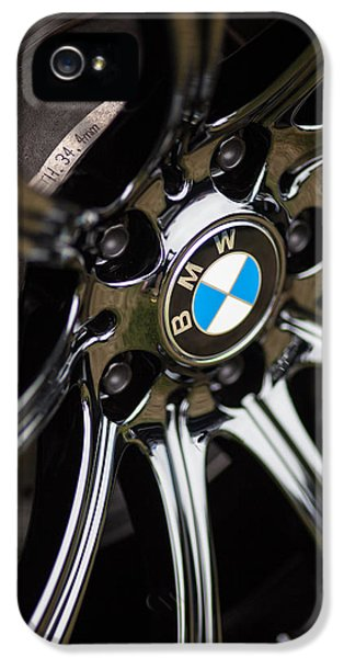 Bmw M5 Black Chrome Wheels IPhone 5 / 5s Case by Mike Reid