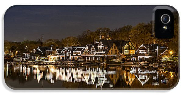 Downtown iPhone 5 Cases - Boathouse Row iPhone 5 Case by John Greim