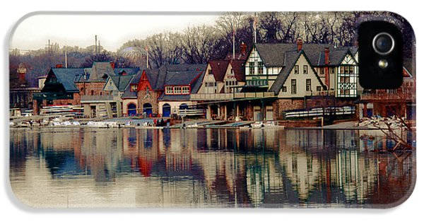 Drive iPhone 5 Cases - BoatHouse Row Philadelphia iPhone 5 Case by Tom Gari Gallery-Three-Photography