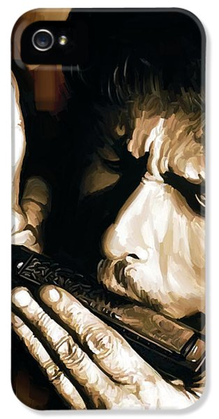 Bob Dylan Artwork 2 IPhone 5 / 5s Case by Sheraz A