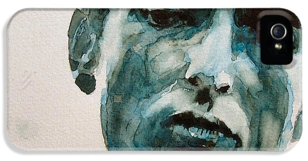Bob Dylan IPhone 5 / 5s Case by Paul Lovering