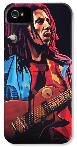 Festival iPhone 5 Cases - Bob Marley 2 iPhone 5 Case by Paul  Meijering