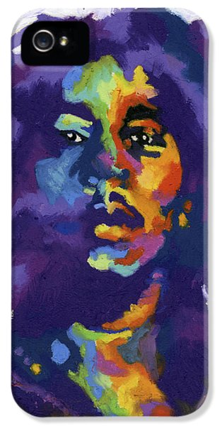 Bob Marley iPhone 5 Cases - Bob Marley iPhone 5 Case by Stephen Anderson