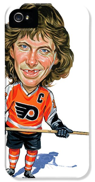 Laughing iPhone 5 Cases - Bobby Clarke iPhone 5 Case by Art