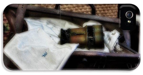 Diffusion iPhone 5 Cases - Bon Voyage iPhone 5 Case by Susan Candelario
