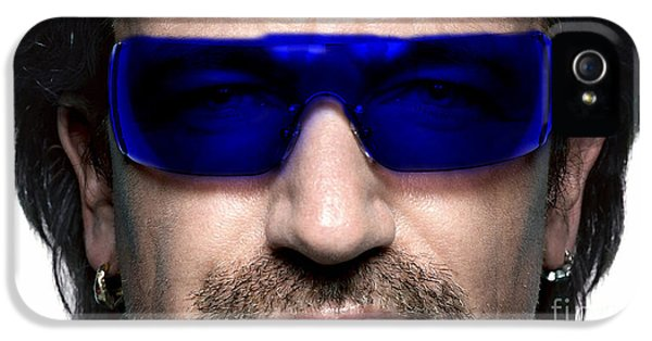 Bono Of U2 IPhone 5 / 5s Case by Marvin Blaine