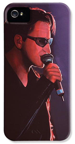 Bono U2 IPhone 5 / 5s Case by Paul Meijering