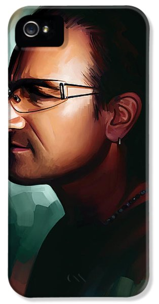 Bono U2 Artwork 1 IPhone 5 / 5s Case by Sheraz A