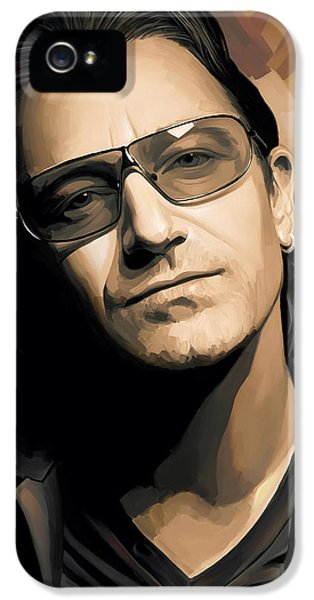 Bono U2 Artwork 2 IPhone 5 / 5s Case by Sheraz A