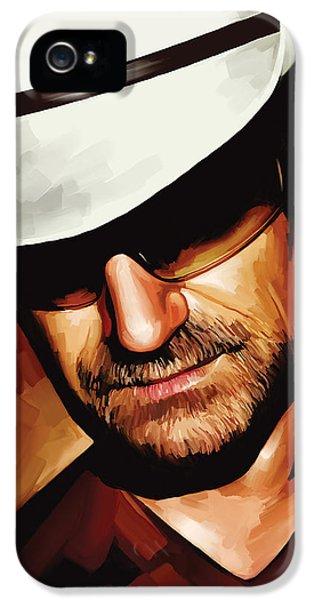 Bono U2 Artwork 3 IPhone 5 / 5s Case by Sheraz A