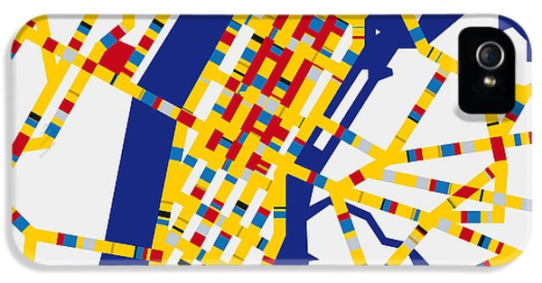 Boogie Woogie New York IPhone 5 / 5s Case by Chungkong Art