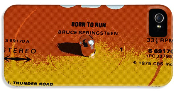 Born To Run iPhone 5 Cases - Born to Run iPhone 5 Case by David Pringle