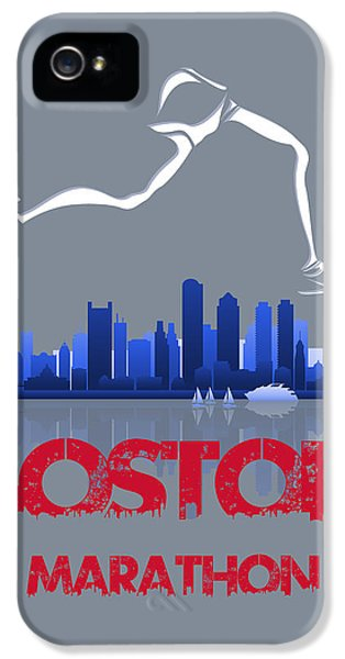 Boston Marathon3 IPhone 5 / 5s Case by Joe Hamilton