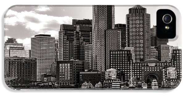 Commercial iPhone 5 Cases - Boston iPhone 5 Case by Olivier Le Queinec