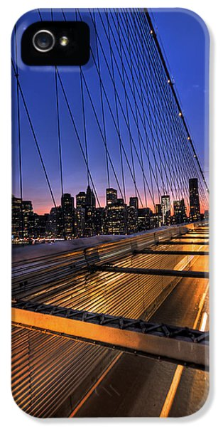 City iPhone 5 Cases - Bound For Greatness iPhone 5 Case by Evelina Kremsdorf
