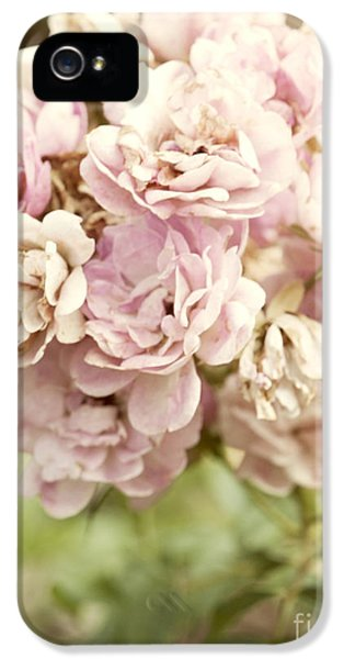 Beautiful iPhone 5 Cases - Bouquet of Vintage Roses iPhone 5 Case by Juli Scalzi