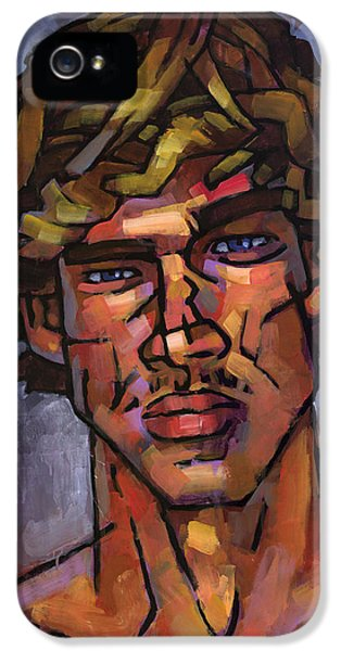 Gay Art iPhone 5 Cases - Brazilian Surfer iPhone 5 Case by Douglas Simonson